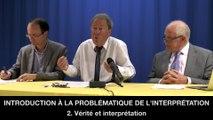II. Introduction à la problématique de l'interprétation, Philippe FONTAINE