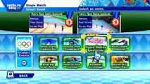 ABM: Sonics Figure Skating Spectacular !! Mario & Sonic SOCHI Olympics!! HD