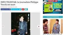 Le journaliste de Canal + Philippe Vecchi est mort