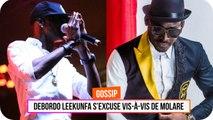 Debordo Leekunfa s'excuse vis-à-vis de Molare