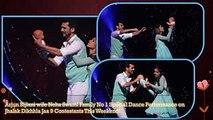 Jhalak Dikhhla Jaa 9 Arjun Bijlani Wife Neha Swami Family No 1 Special Family Dance Performance
