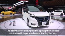 Tokyo Motor Show puts the spotlight on electric vehicles