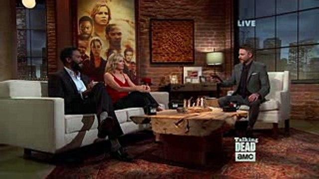Talking Dead Kim Dickens (Madison) On Troy's Death Fear The Walking Dead 3x15