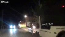 Disgraced Nusra Terrorists Leave Lebanese Territories under Lebanon, Hezbollah Flags