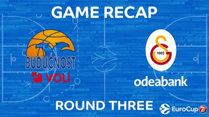 7Days EuroCup Highlights Regular Season, Round 3: Buducnost 87-78 Galatasaray