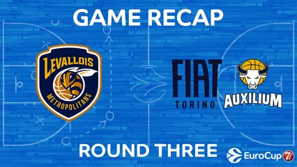 7Days EuroCup Highlights Regular Season, Round 3: Levallois 73-79 Fiat Turin