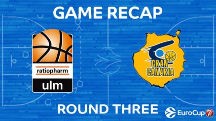 7Days EuroCup Highlights Regular Season, Round 3: Ulm 97-87 Gran Canaria