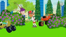 ᴴᴰ Blaze and The Monster Machines Scramble Love Full Episodes! Blaze Monster Truck Cartoon Movies