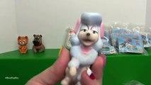 DISNEYS OLIVER & COMPANY (1988) HAPPY MEAL FULL SET | McDonalds Vs Burger King | Bins Toy Bin
