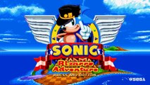Sonic Mania's Bizarre Adventure - Title and Opening Animation