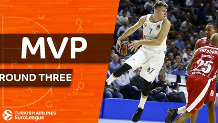 RS Round 3 MVP: Luka Doncic, Real Madrid