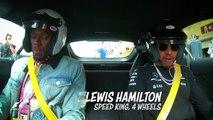 Lewis Hamilton roule avec Usain Bolt à Austin dans sa Mercedes AMG GT