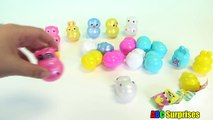 Best Learning Video for Kids Learn FARM ANIMALS Learn COLORS Easter Egg Surprise Toys ABC Surprises