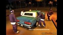 Альфа/Бета версия GTA San Andreas обзор, сравнение(alpha/beta version Grand theft auto San Andreas)