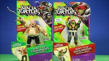 Teenage Mutant Ninja Turtles Out Of The Shadows TMNT With Raphael, Bebop Battle Sounds Unboxing