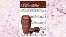 Download PDF Progressive Steps to Bongo and Conga Drum Technique FREE