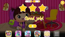 Baby Learn Numbers Clock Dress Up Math Funny Brush & Shapes with Sweet Little Emma - Playschool