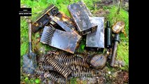 THE EXCAVATION OF THE GERMAN BUNKERS / FINDINGS OF THE WW2 N 49 / WWII METAL DETECTING