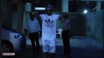 106.SPOTTED- Ranveer Singh in shorts & gold chain outside Sanjay Leela Bhansali's office