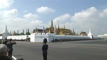 Thaïlande : la procession funéraire du roi Rama IX