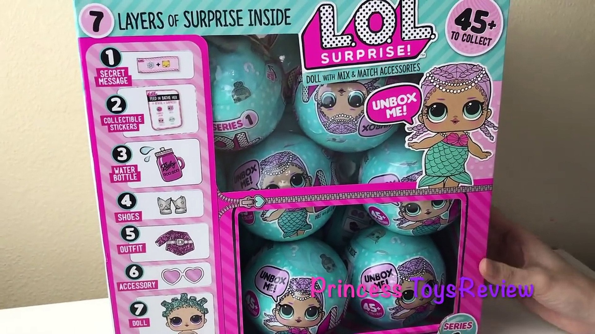 Lol Surprise Dolls Series 1 Wave 2 Ultra Rare Dolls That Pee Spits And Cries Princess Toysreview Video Dailymotion