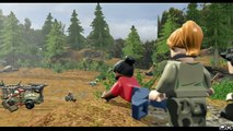 LEGO Jurassic World Sabotaging the Dino Prison Jurassic Park The Lost World