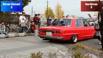 Countless Classics: Epic Yamaguchi Old School Car Show Roll Out