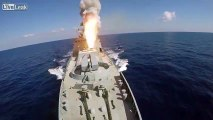 Russian Warships, Sub Launch Cruise Missiles at ISIS Targets in Syria: MoD