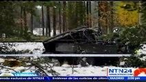 Al menos cuatro muertos y 11 heridos por choque entre tren y camión militar en Tammisaari, Finlandia