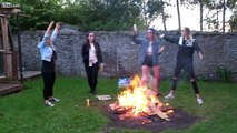 Forfar Witches Dancing Around The Pagan Fire