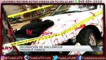 Vecinos llaman al 911 después de ver una decoración de Halloween-Al Rojo Vivo-Video