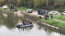 Tueurs du Brabant: les plongeurs de la Protection civile ont sondé le canal Bruxelles-Charleroi à Ittre