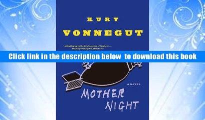Mother Night Kurt Vonnegut   eBook Pdf