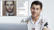 Nick Jonas Goes Undercover on Twitter, Instagram, Reddit, and Quora