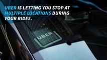 Uber lets you add multiple stops to a ride