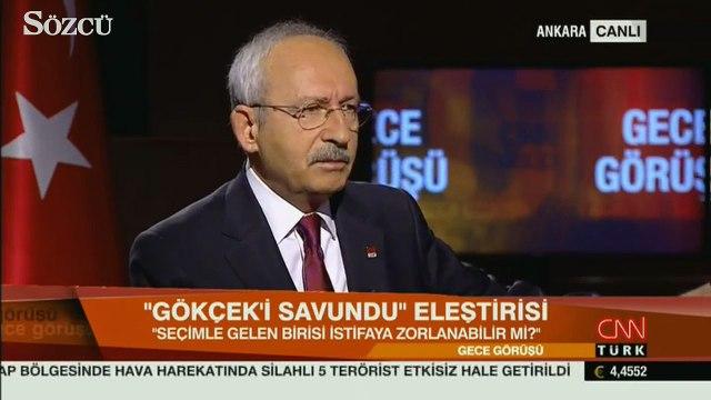 Kılıçdaroğlu'na Melih Gökçek için adaylık sorusu!