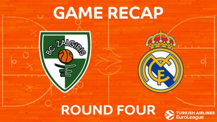 EuroLeague 2017-18 Highlights Regular Season Round 4 video: Zalgiris 66-87 Real Madrid