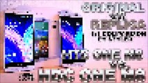 HDC One M8 vs. HTC One M8 (Clone/Original) [COMPARISON VIDEO] Design & Software / Size & Weight