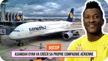 Asamoah Gyan lance sa compagnie aérienne
