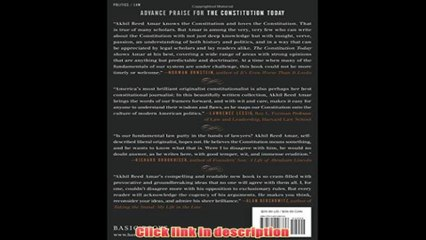 The Constitution Today Timeless Lessons For The Issues Of Our Era   eBook Pdf