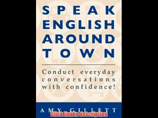 Speak English Around Town   eBook Pdf