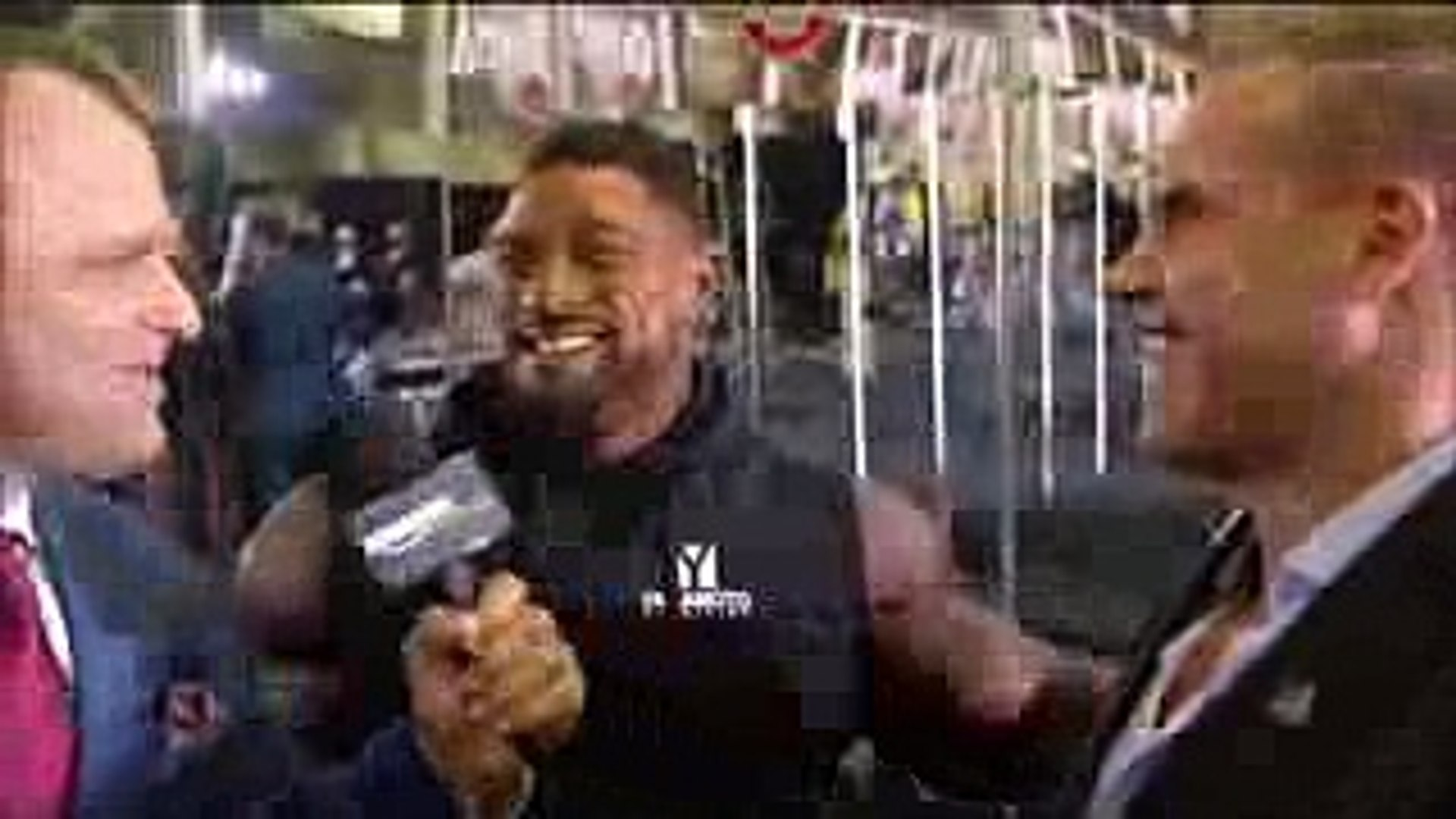 Roelly The Beast Winklaar Backstage Interview With Jay Cutler @ 2017 Mr. Olympia