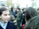 Blocage Université Paris 10 Nanterre Police