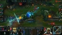 FW vs TM Game 1 Highlights LMS Summer 2016 W2D2 Flash Wolves vs Team Mist FW vs TM LMS LOL