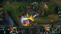 FW vs TM Game 2 Highlights LMS Summer 2016 W2D2 Flash Wolves vs Team Mist FW vs TM LMS LOL