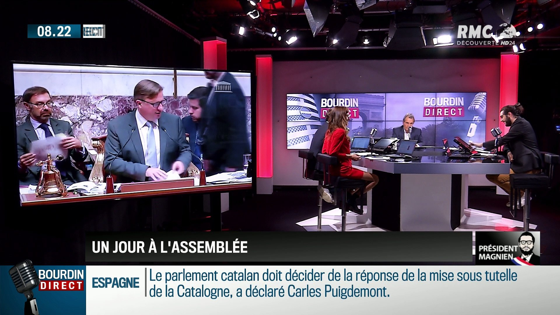Président Magnien ! : Édouard Philippe en Facebook live - 27/10