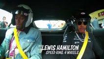 Quand Usain Bolt embarque avec Lewis Hamilton dans une Mercedes AMG GTR