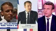 """Macron n'est """"pas le père Noël"""" (ce n'est pas faute de le répéter)"""