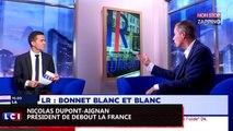 """Zap politique -  Nicolas Dupont-Aignan : l'élection du président LR """"tourne à la  une farce""""(vidéo)"""