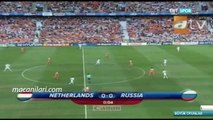 [HD] 21.06.2008 - UEFA EURO 2008 Quarter Final Russia 1-3 Netherlands (After Extra Time)